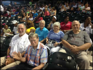 Veterans at Barons Game